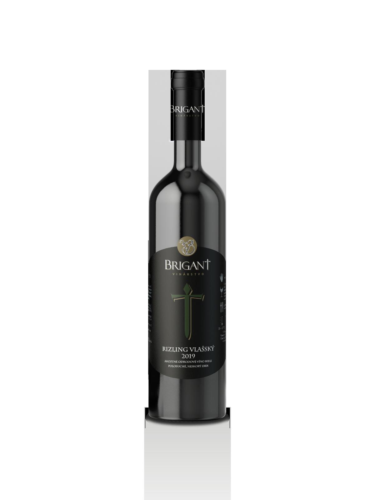 Rizling vlašský biele víno polosuché 2019