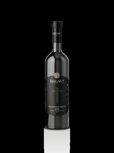 Veltlínske zelené biele víno suché 2018
