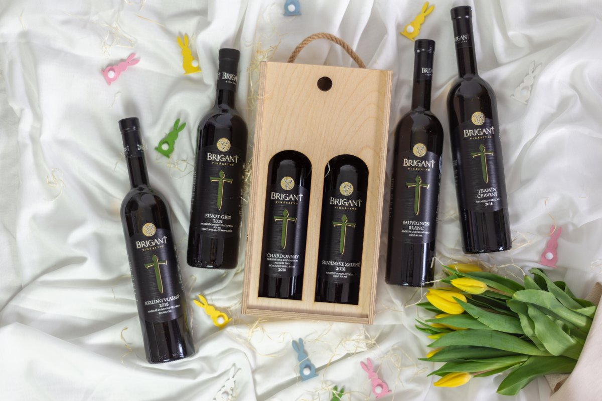 Víno na Veľkú noc BRIGANT